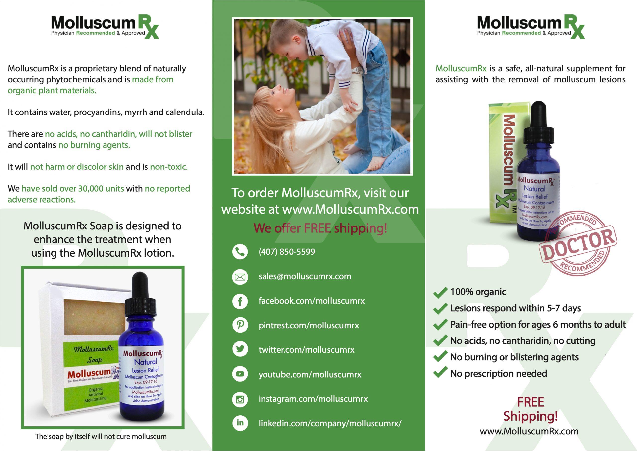 Molluscum Rx Brochure